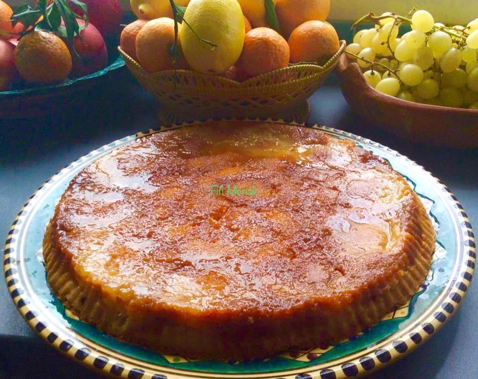 Mon gâteau aux pommes