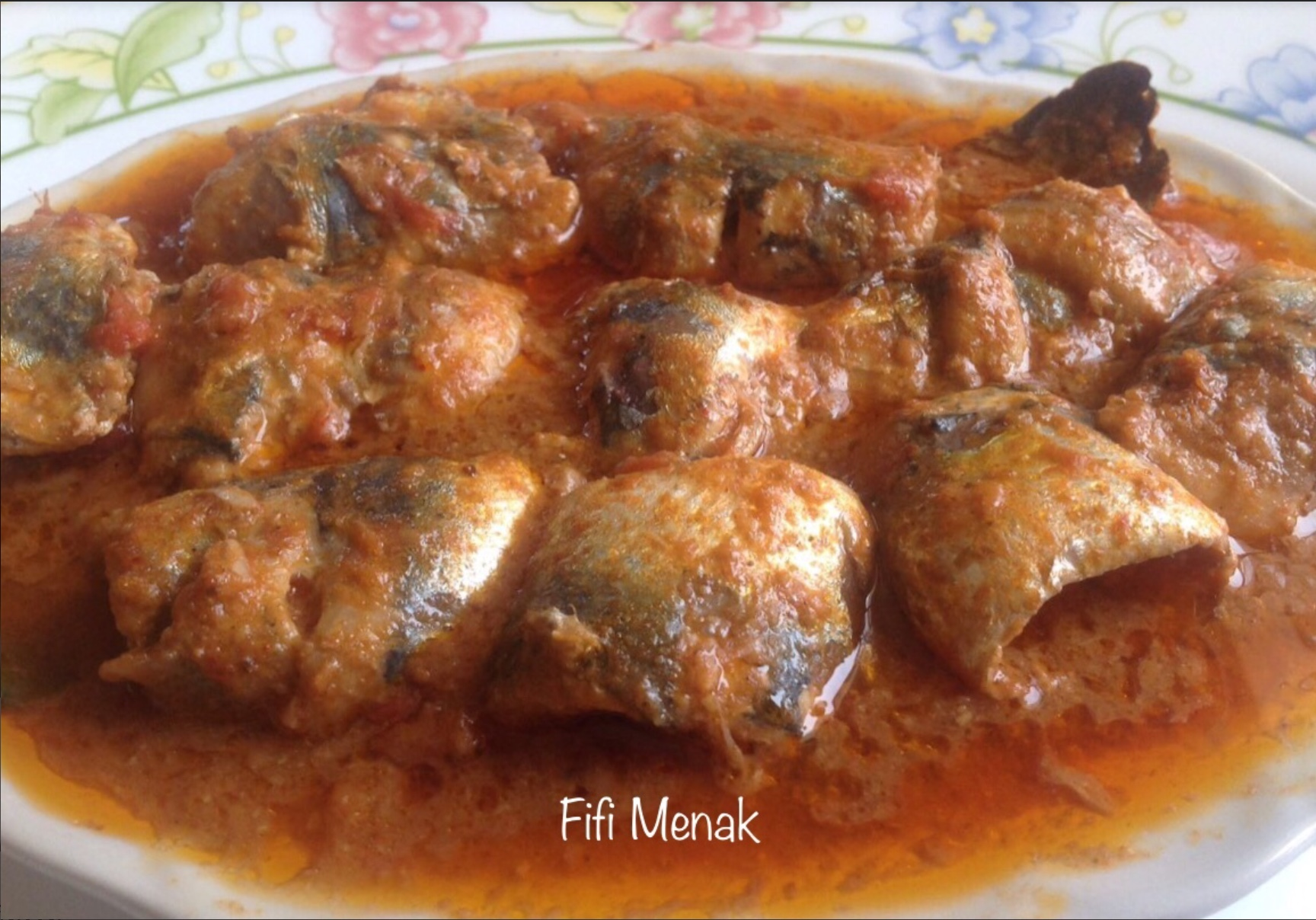 Sardines en sauce à l'ail et au cumin (Chtitha serdine)