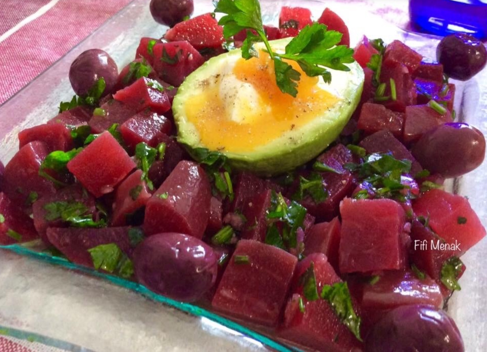 Salade de betterave à l'algéroise