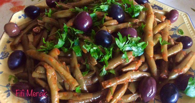 Haricots verts en salade à l'algéroise