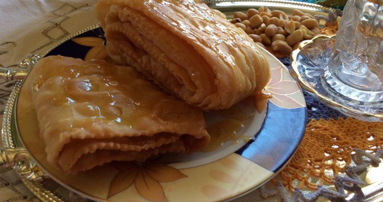 Gâteau croustillant (Khechkhach)