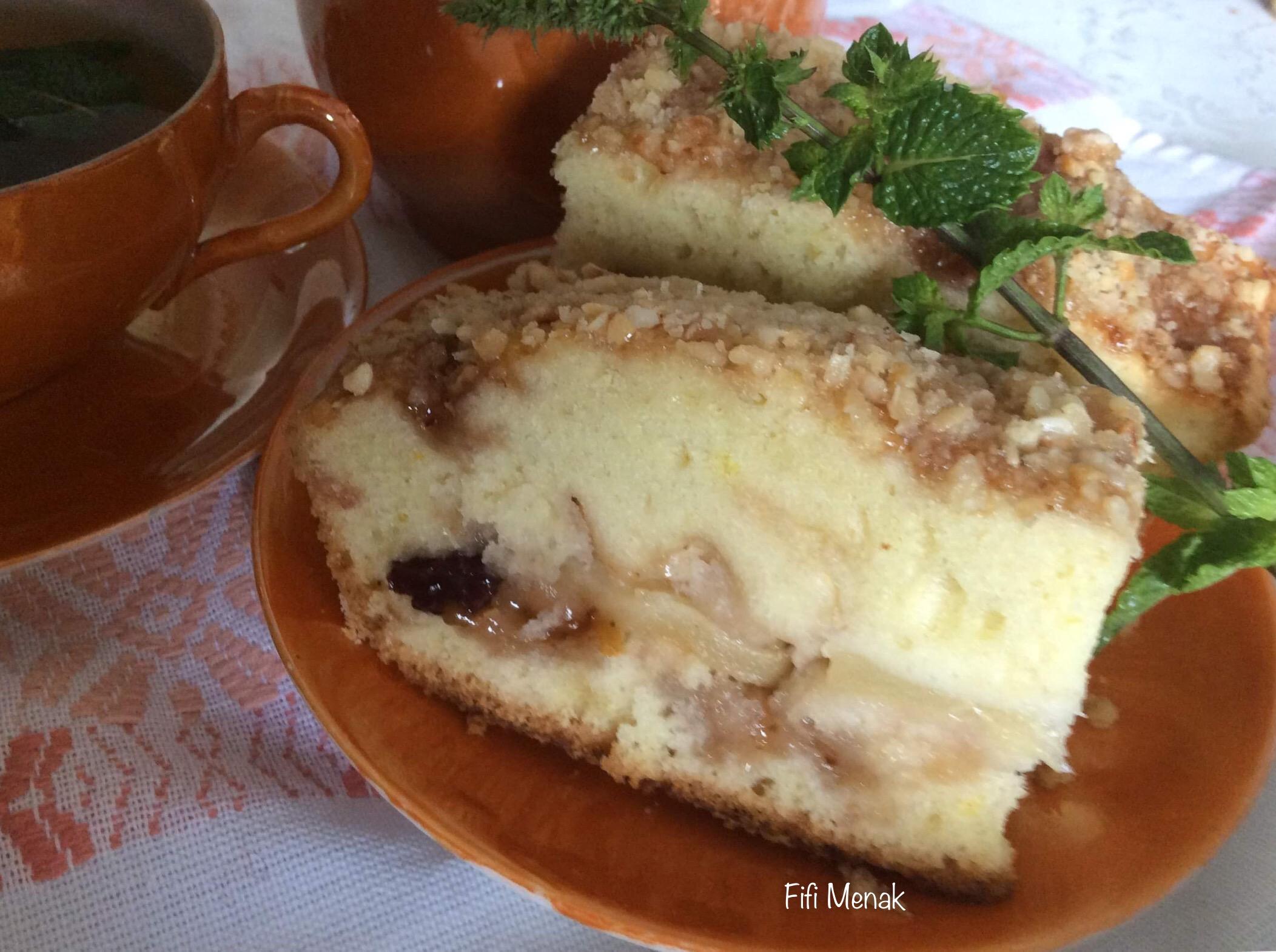 Mon gâteau algérien à la poire