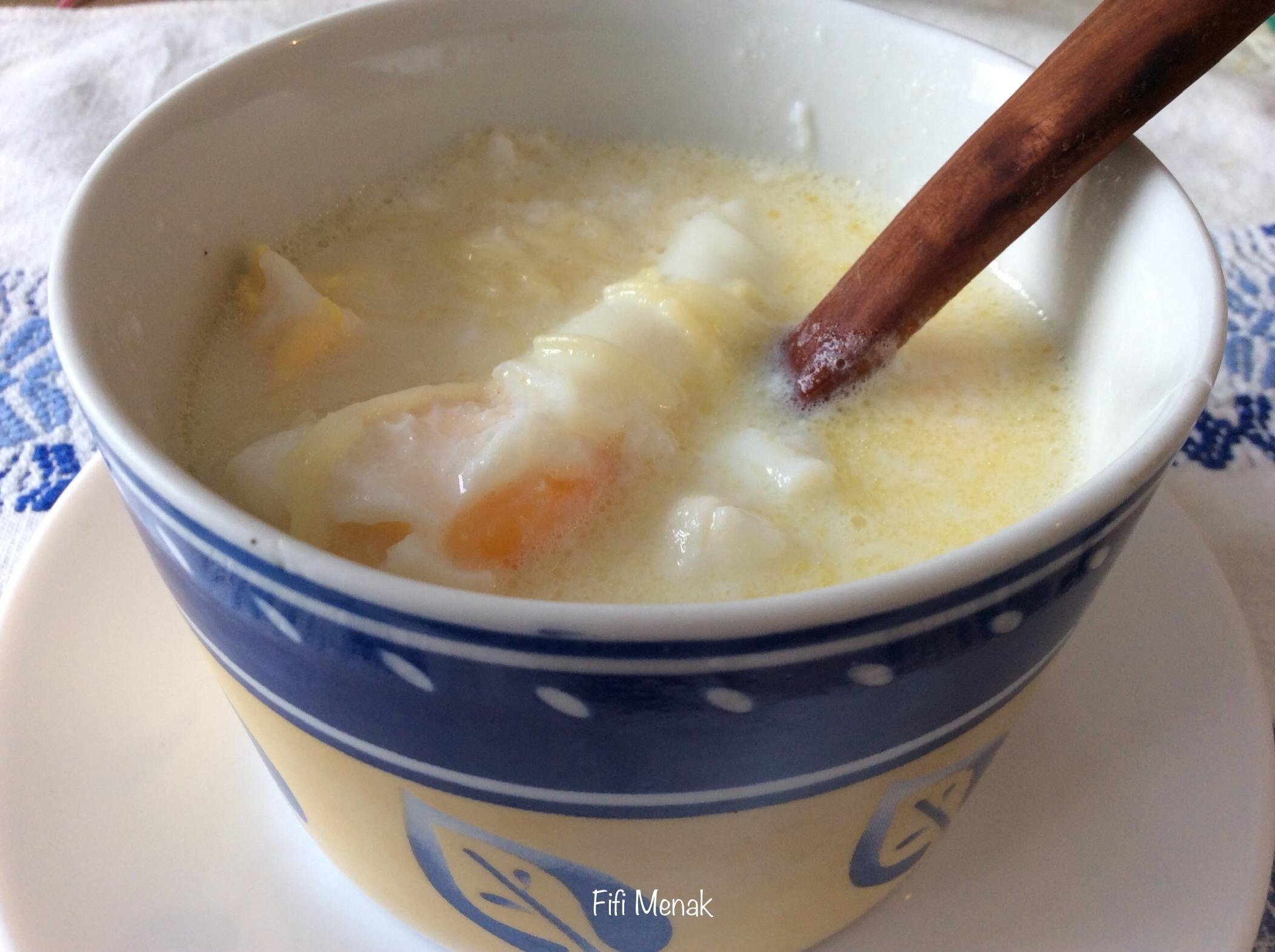 Vermicelles au lait (fdawech bel hlib)