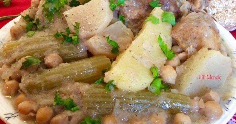 Légumes en sauce blanche