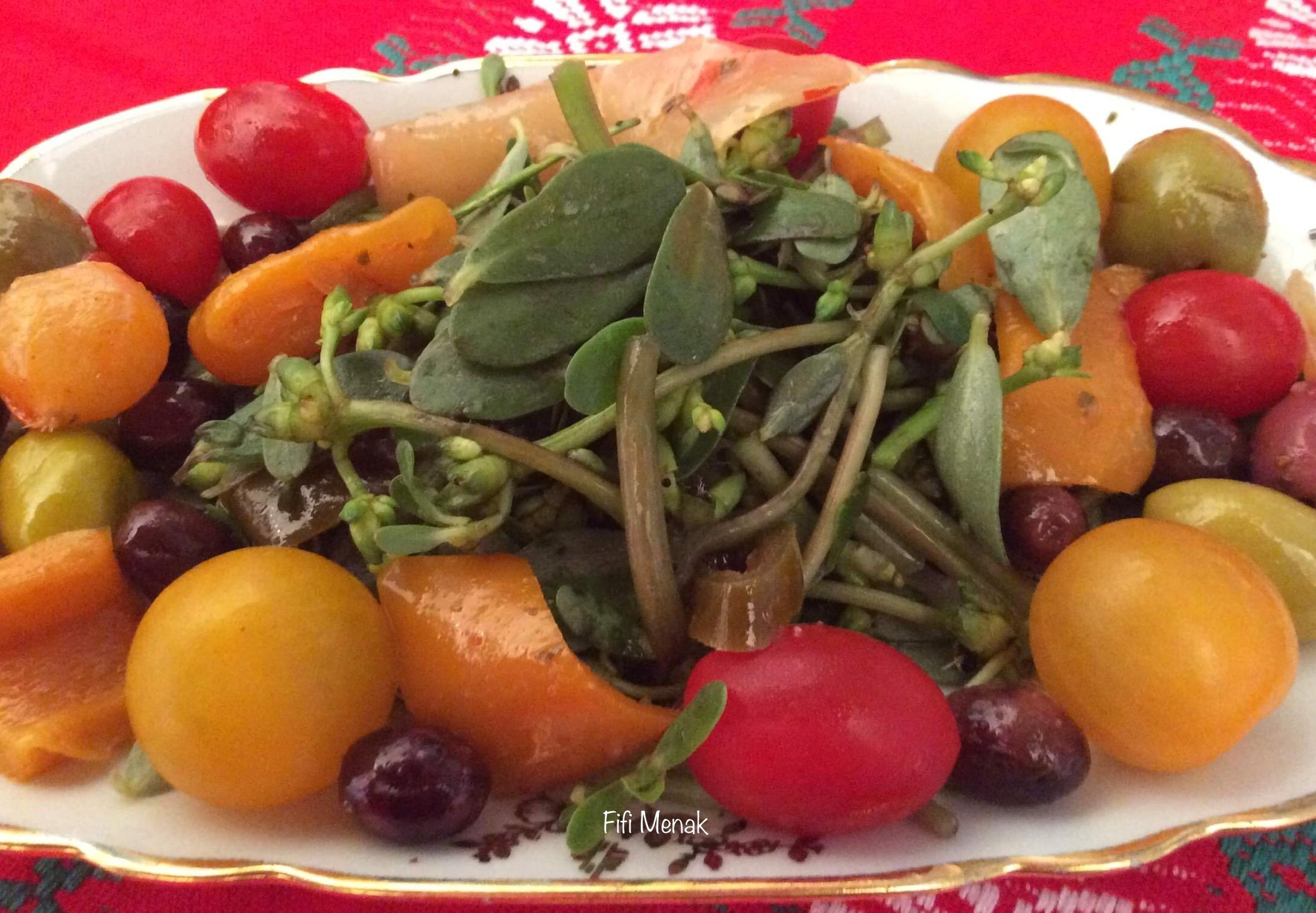 Pourpier en salade (Rdjila)