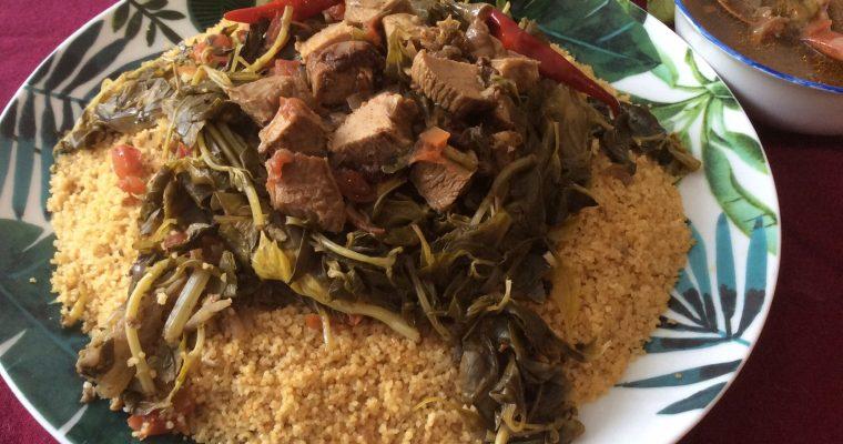 Couscous de Mostaganem aux épices et herbes