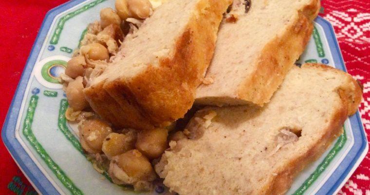 La KETAFIA (Soufflé algérois en sauce blanche)